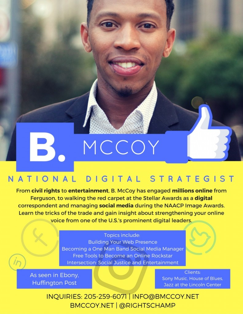 B McCoy Digital Strategist